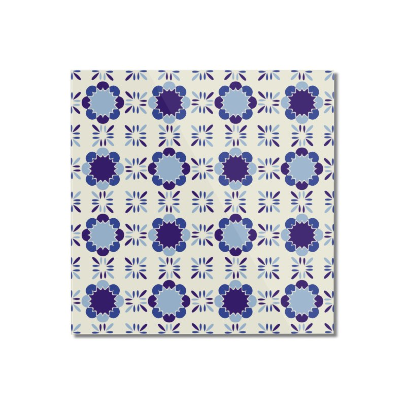 Portuense Tile Home Mounted Acrylic Print by Caligráfica