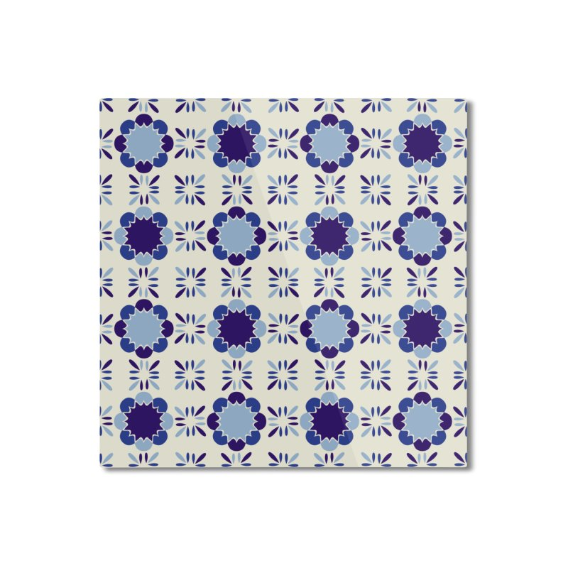 Portuense Tile Home Mounted Aluminum Print by Caligráfica