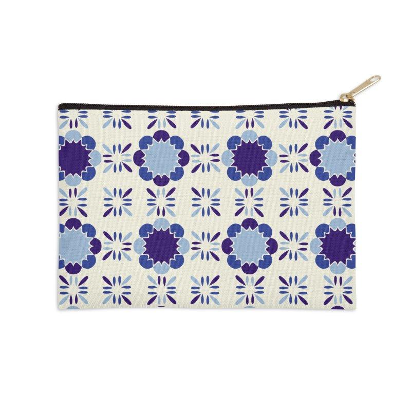 Portuense Tile Accessories Zip Pouch by Caligráfica