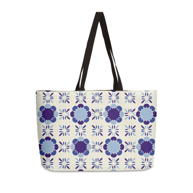 Portuense Tile Accessories Weekender Bag Bag by Caligráfica