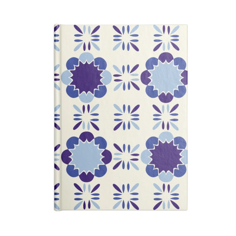 Portuense Tile Accessories Blank Journal Notebook by Caligráfica