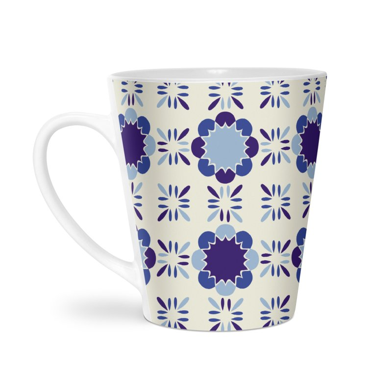 Portuense Tile Accessories Latte Mug by Caligráfica