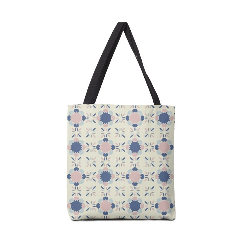 Pastel Tile Accessories Bag by Caligráfica