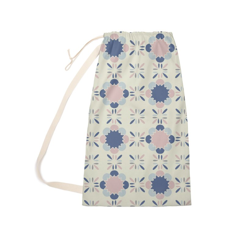 Pastel Tile Accessories Laundry Bag Bag by Caligráfica