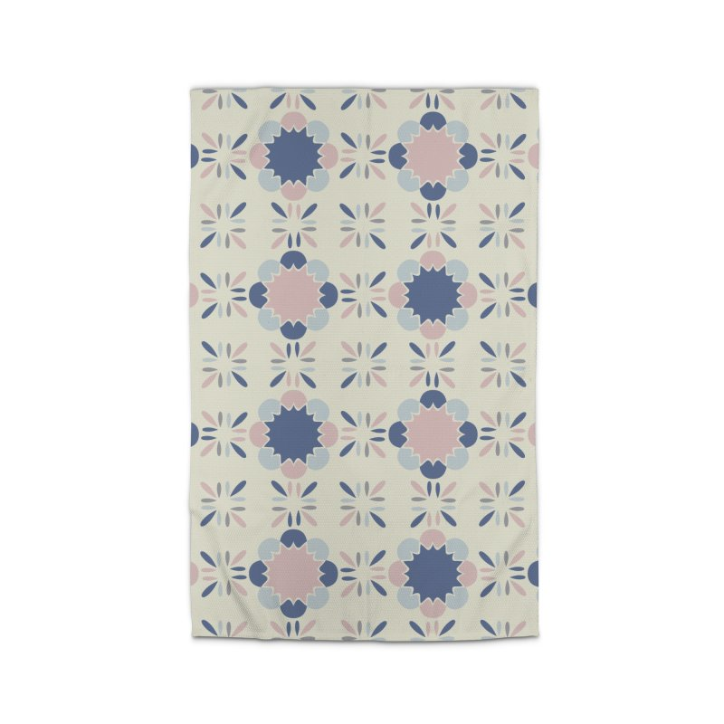 Pastel Tile Home Rug by Caligráfica