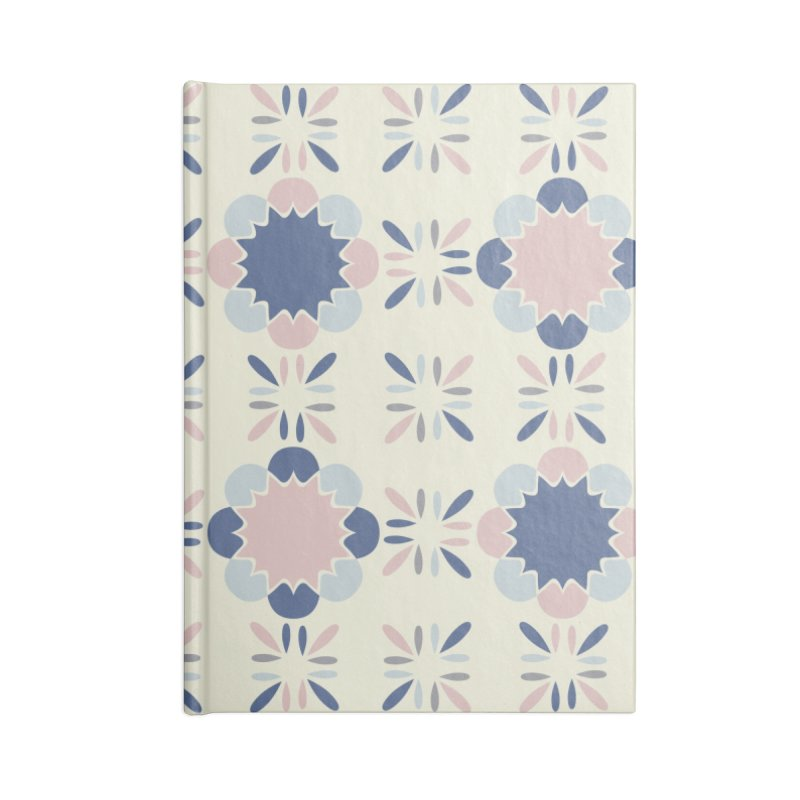 Pastel Tile Accessories Blank Journal Notebook by Caligráfica