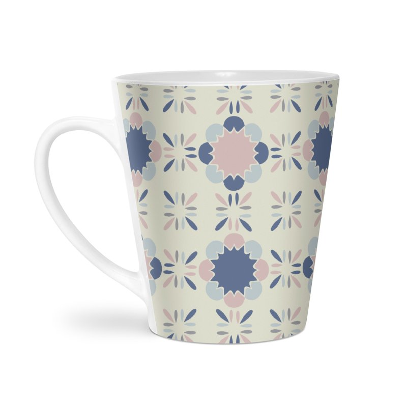 Pastel Tile Accessories Latte Mug by Caligráfica