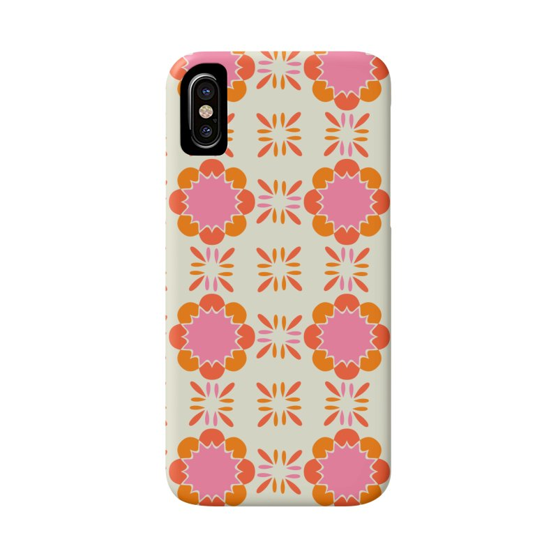 Sixties Tile Accessories Phone Case by Caligráfica