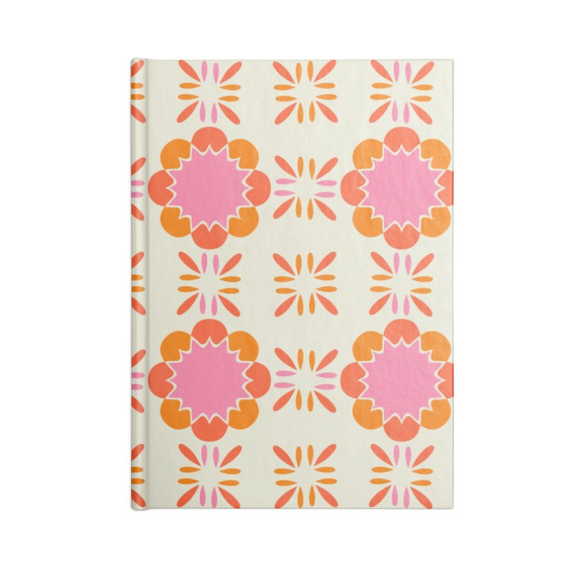Sixties Tile Accessories Blank Journal Notebook by Caligráfica