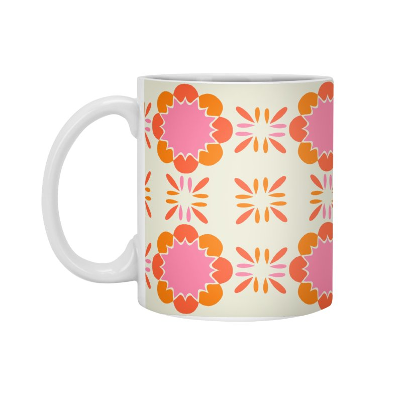 Sixties Tile Accessories Standard Mug by Caligráfica