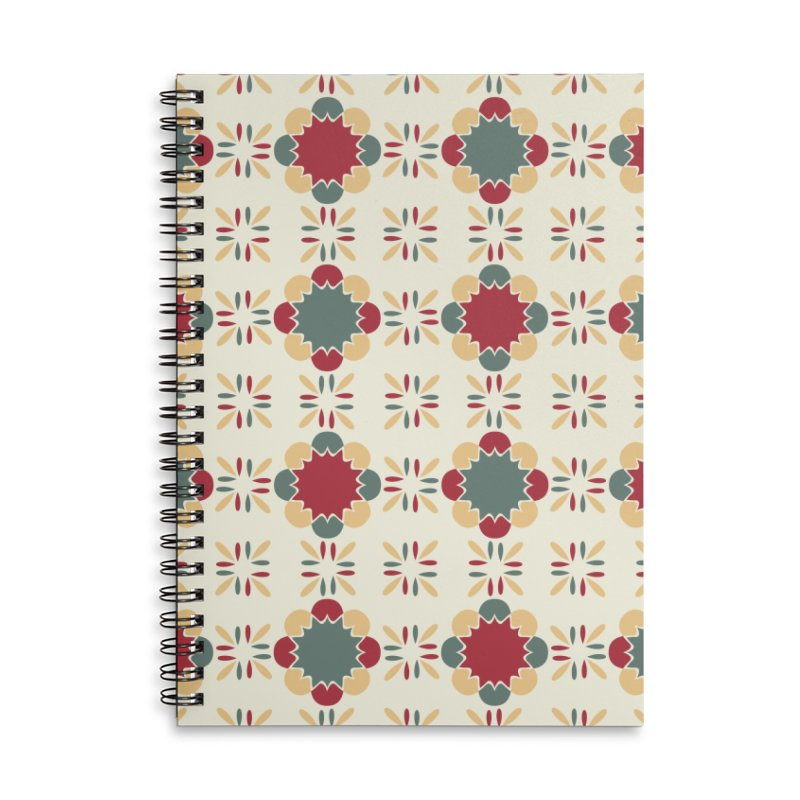 Póvoa Tile Accessories Lined Spiral Notebook by Caligráfica