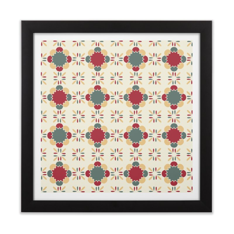 Póvoa Tile Home Framed Fine Art Print by Caligráfica