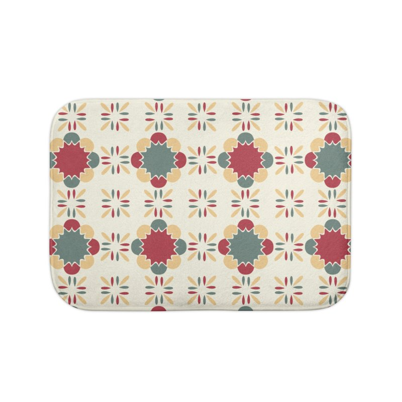 Póvoa Tile Home Bath Mat by Caligráfica