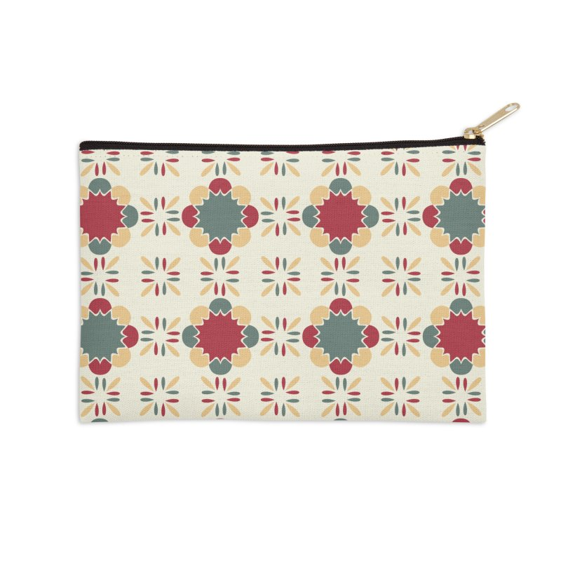 Póvoa Tile Accessories Zip Pouch by Caligráfica