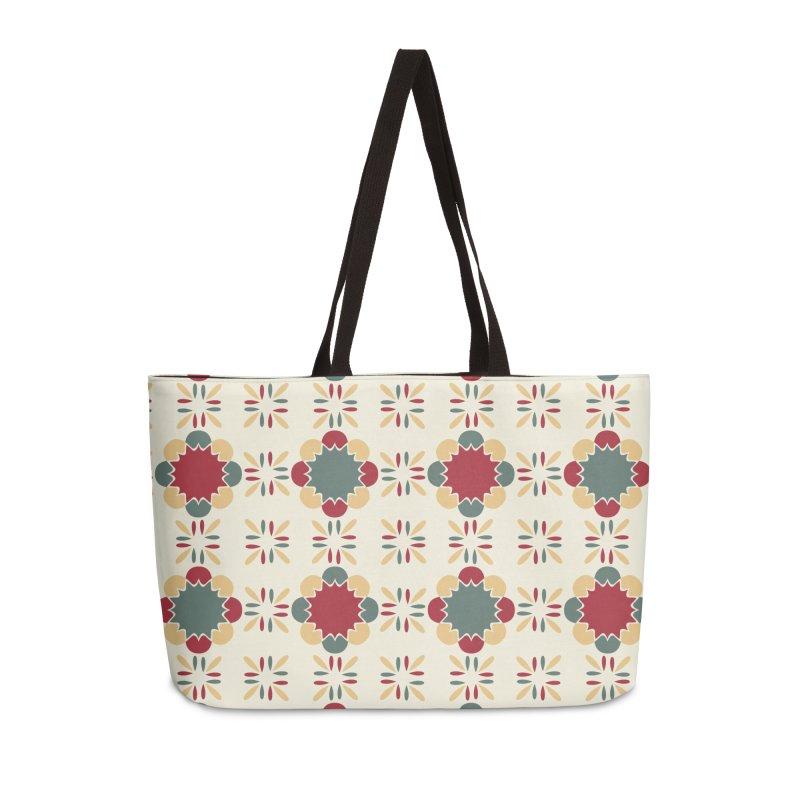 Póvoa Tile Accessories Weekender Bag Bag by Caligráfica