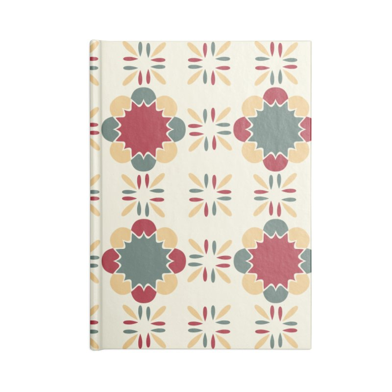 Póvoa Tile Accessories Blank Journal Notebook by Caligráfica