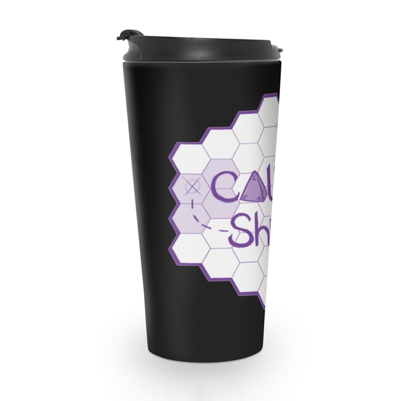 Called Shot Logo in Travel Mug by The Called Shot Podcast's Shop