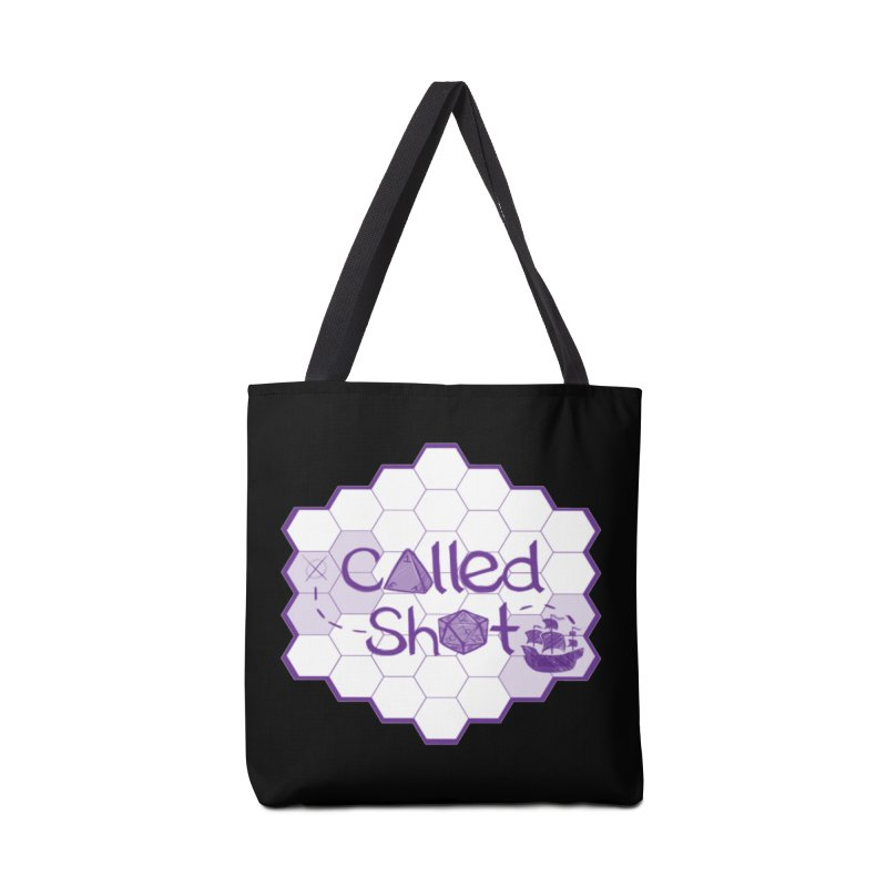 Called Shot Logo Accessories Tote Bag Bag by The Called Shot Podcast's Shop