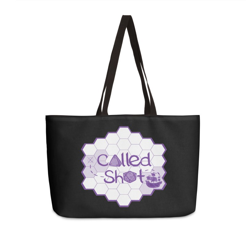 Called Shot Logo Accessories Weekender Bag Bag by The Called Shot Podcast's Shop