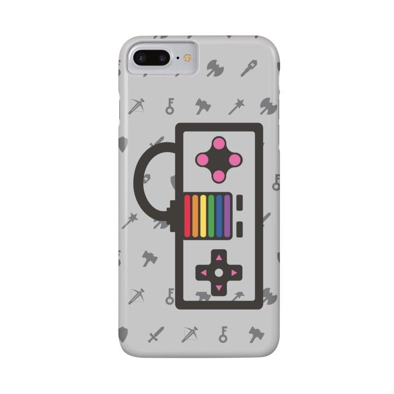 You Got Gayme in iPhone 7 Plus Phone Case Slim by Jo Lee