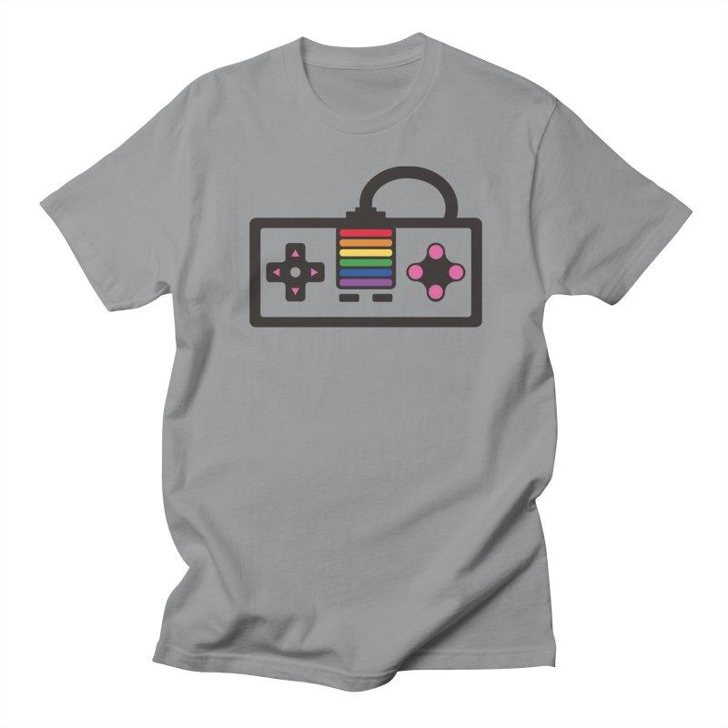 You Got Gayme in Men's T-Shirt Slate by Jo Lee
