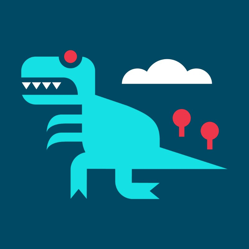 Tee-Rex by Cam Hoff on Threadless