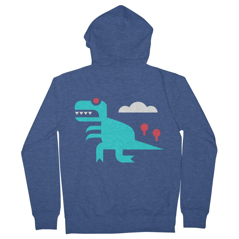 Tee-Rex Men's Zip-Up Hoody by Cam Hoff on Threadless
