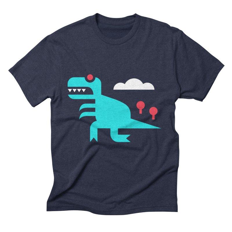 Tee-Rex Men's Triblend T-shirt by Cam Hoff on Threadless