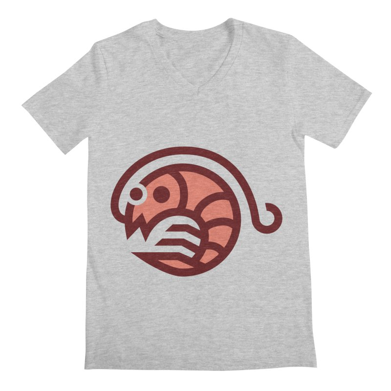 Shrimpy Shrimp Men's V-Neck by Cam Hoff on Threadless