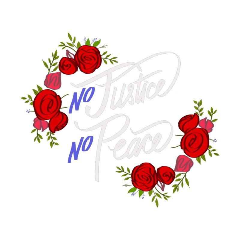 No Justice, No Peace Men's T-Shirt by Camilo Caffi