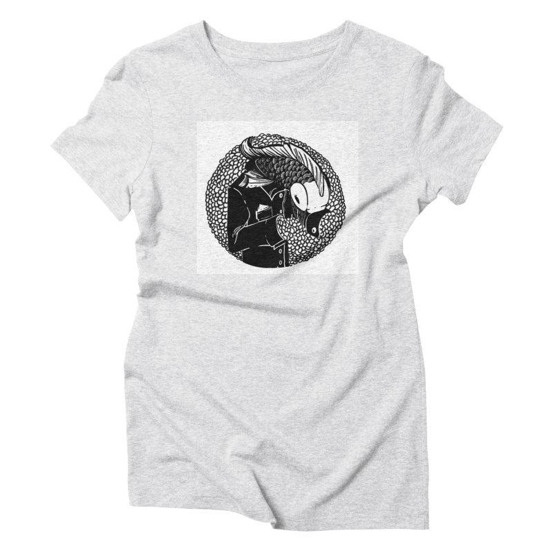 Fishman Women's Triblend T-Shirt by camilogarcia's Artist Shop