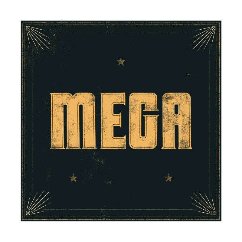MEGA (Light) Men's T-Shirt by Campfire Media