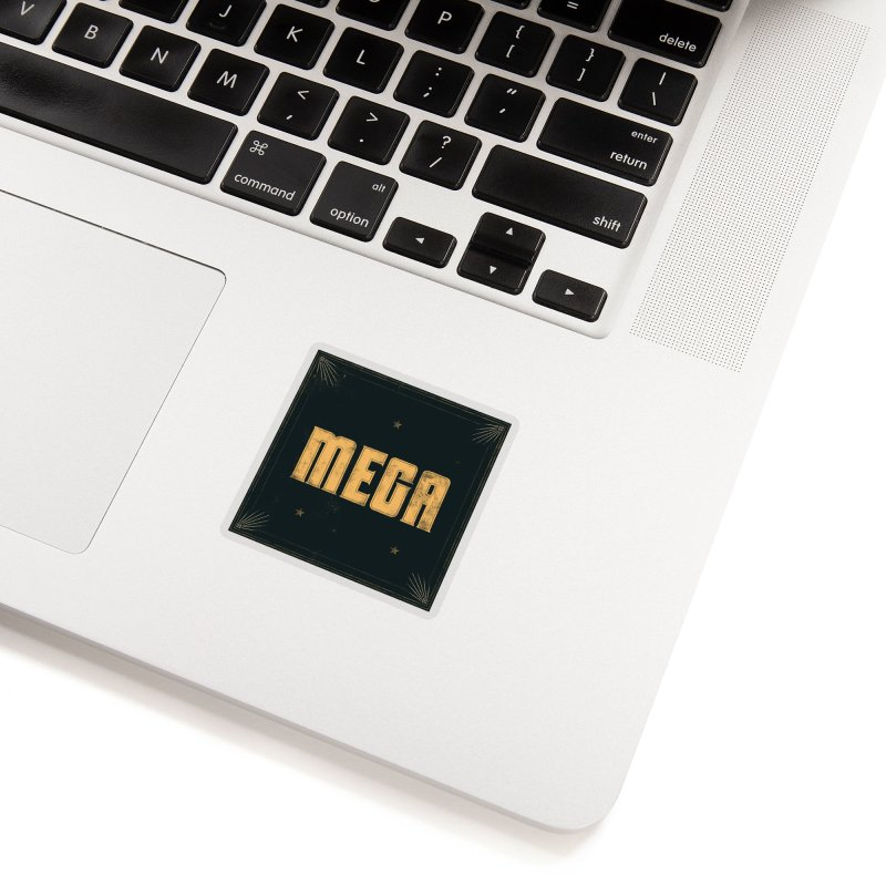 MEGA (Light) Accessories Sticker by Campfire Media