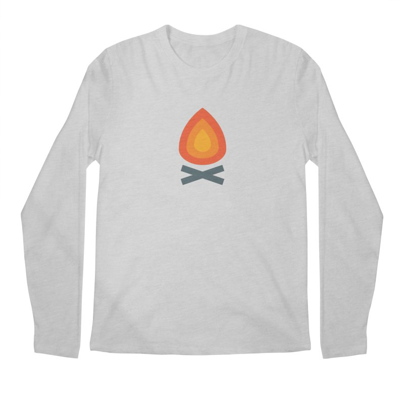 Campfire Media Logo Men's Regular Longsleeve T-Shirt by Campfire Media