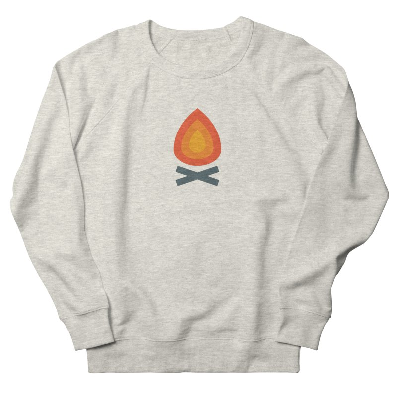 Campfire Media Logo Men's French Terry Sweatshirt by Campfire Media