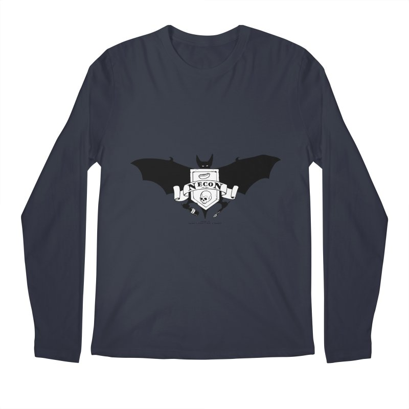 Official Camp Necon Logo (Various Colors) Men's Regular Longsleeve T-Shirt by The Official Camp Necon Store