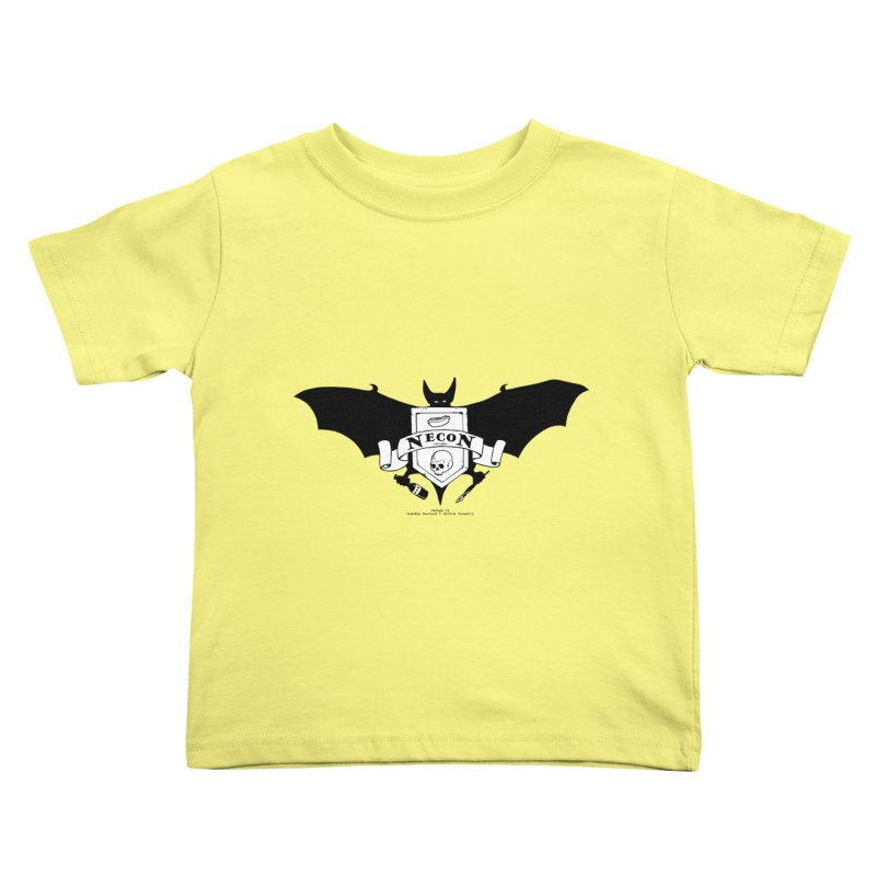 Official Camp Necon Logo (Various Colors) Kids Toddler T-Shirt by The Official Camp Necon Store