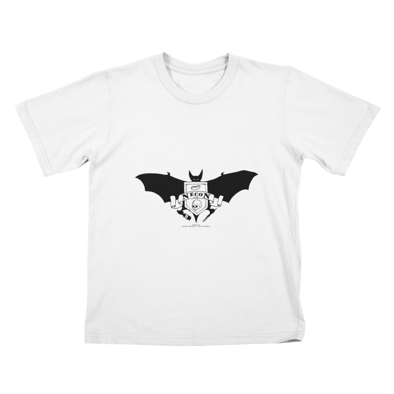Official Camp Necon Logo (Various Colors) Kids T-Shirt by The Official Camp Necon Store