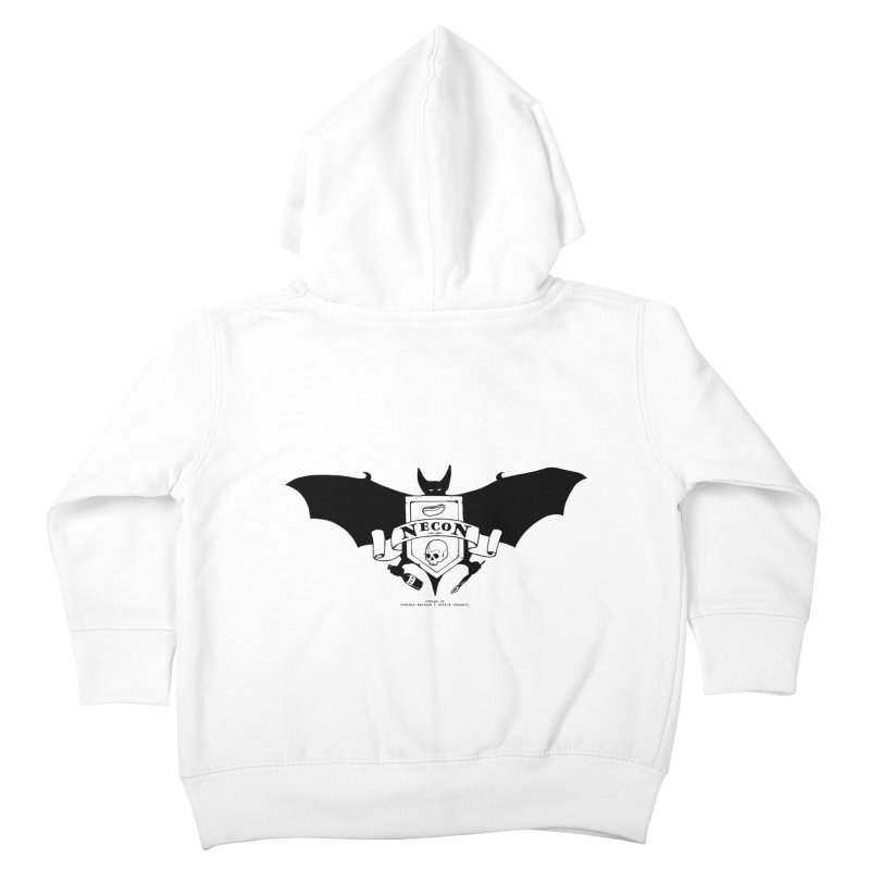 Official Camp Necon Logo (Various Colors) Kids Toddler Zip-Up Hoody by The Official Camp Necon Store