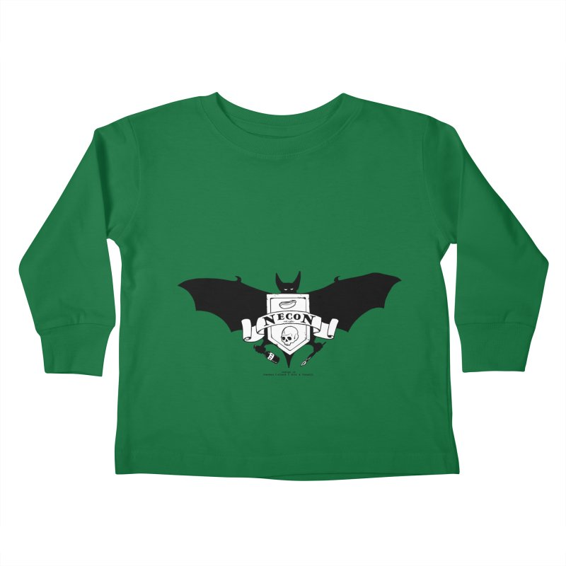 Official Camp Necon Logo (Various Colors) Kids Toddler Longsleeve T-Shirt by The Official Camp Necon Store