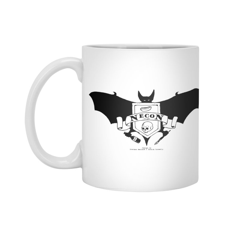 Official Camp Necon Logo (Various Colors) Accessories Standard Mug by The Official Camp Necon Store