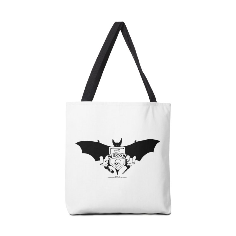 Official Camp Necon Logo (Various Colors) Accessories Tote Bag Bag by The Official Camp Necon Store