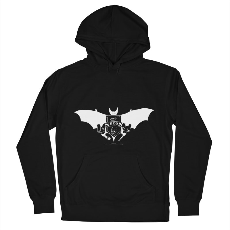 Official Camp Necon Logo (Black Apparel) Men's French Terry Pullover Hoody by The Official Camp Necon Store