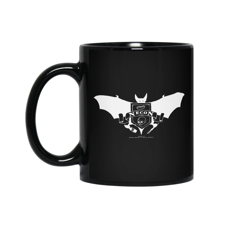 Official Camp Necon Logo (Black Apparel) Accessories Standard Mug by The Official Camp Necon Store