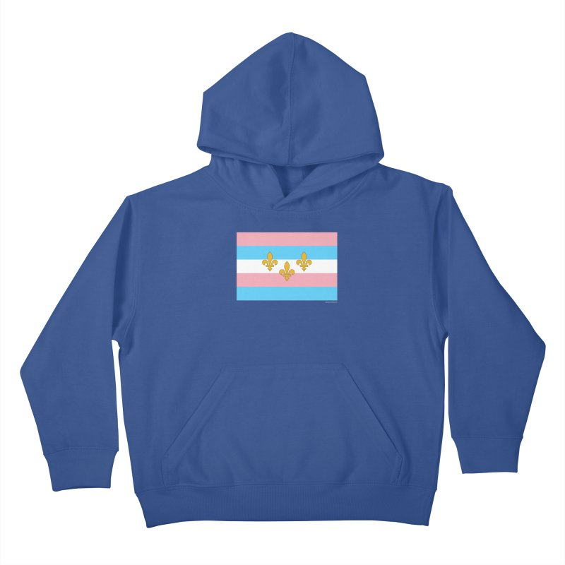 Transtastic New Orleans! Kids Pullover Hoody by campsnash of New Orleans