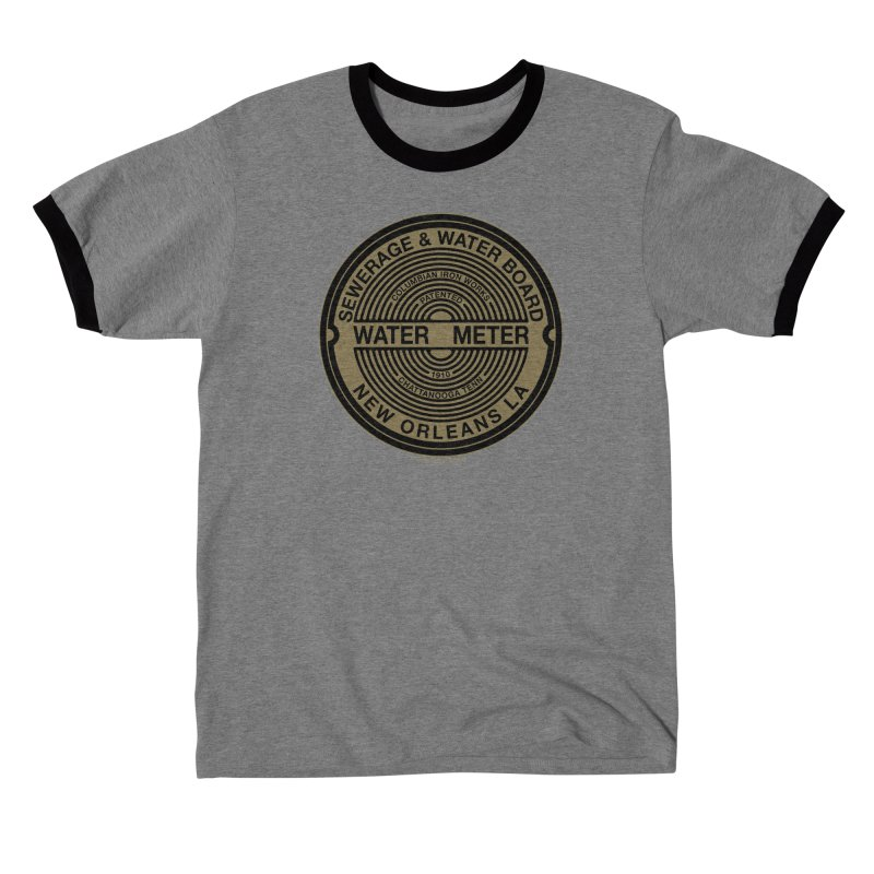 Lesser Known Water Meter Covers of New Orleans: Columbian Iron Works Women's T-Shirt by campsnash of New Orleans