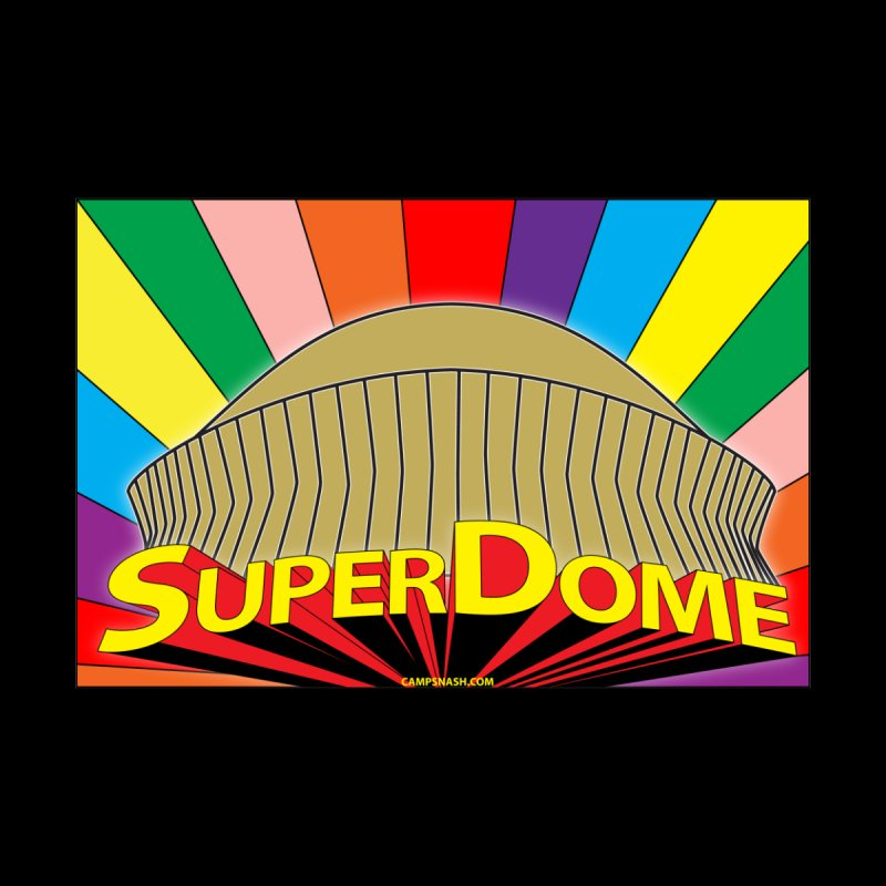 Superfriends in the Superdome Women's T-Shirt by campsnash of New Orleans