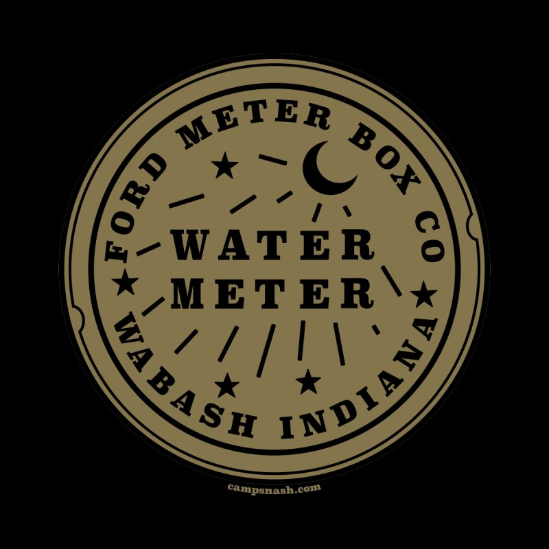 Lesser Know Water Meter Covers of NOLA: The Other Crescent City one Kids Pullover Hoody by campsnash of New Orleans