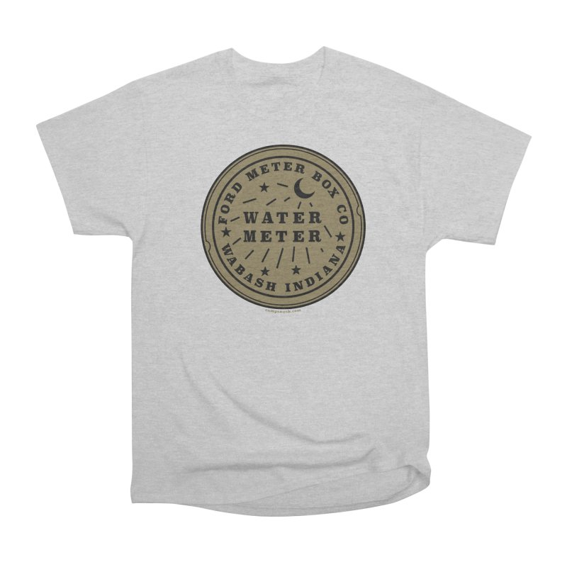 Lesser Know Water Meter Covers of NOLA: The Other Crescent City one Women's T-Shirt by campsnash of New Orleans