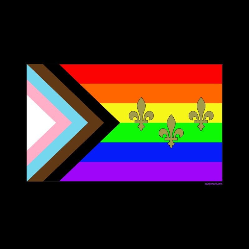 New Orleans City Pride Flag: New Pride! Men's T-Shirt by campsnash of New Orleans